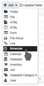 Add Scheduler